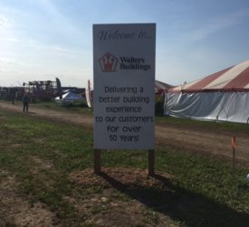 Walters Buildings at Farm Technology Days