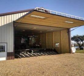 Farm Equipment Pole Barn