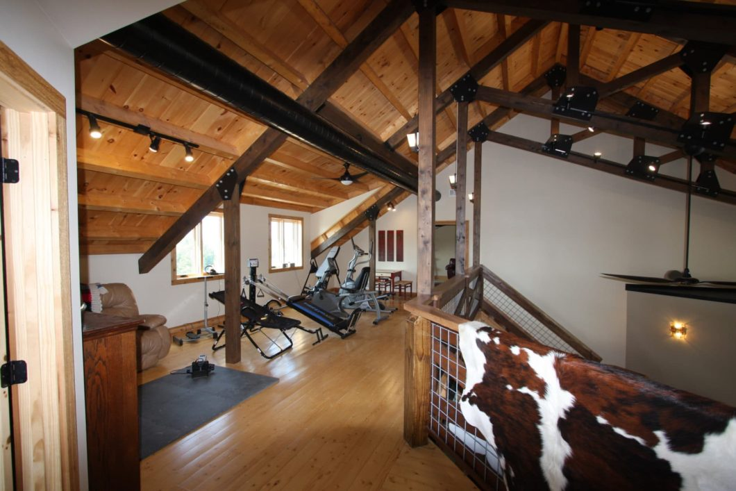 Luxury Timber Frame Home - Walters Buildings
