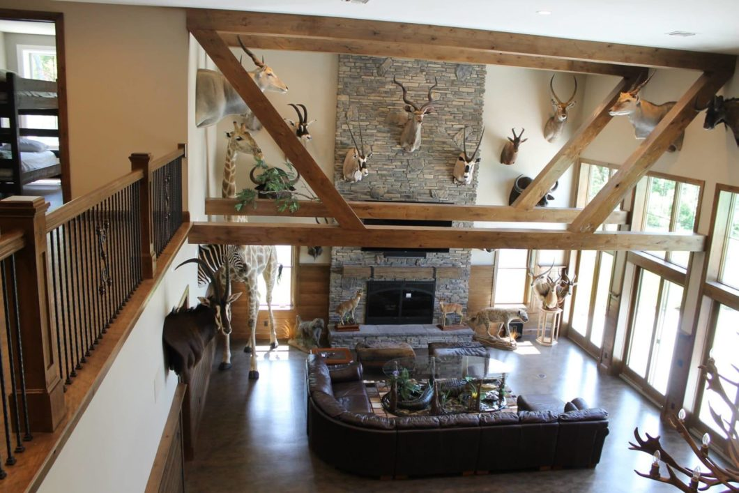 Hunting Cabin Interior Do It Yourself Hunting Cabins: Luxury Hunting Cabin