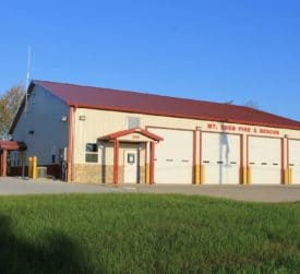 Post Frame Fire Station