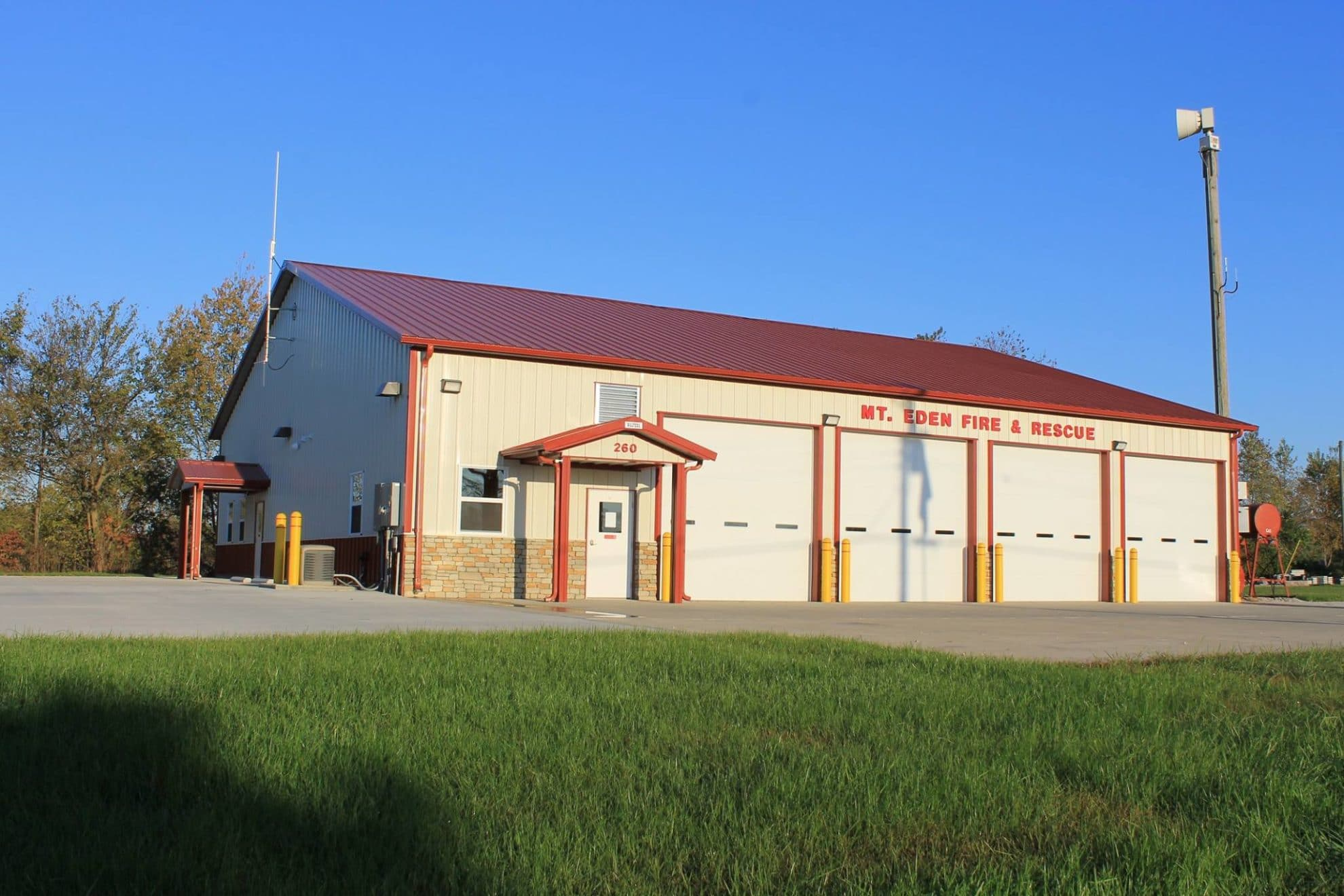 Post Frame Fire Station