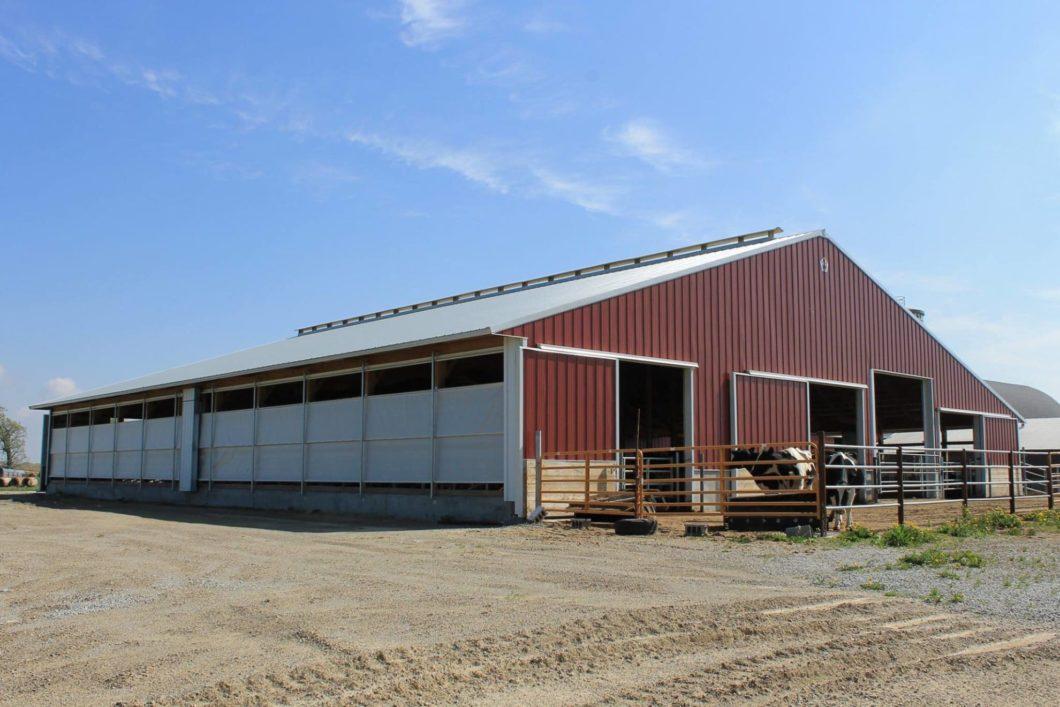 cattle barn walters buildingscattle barn