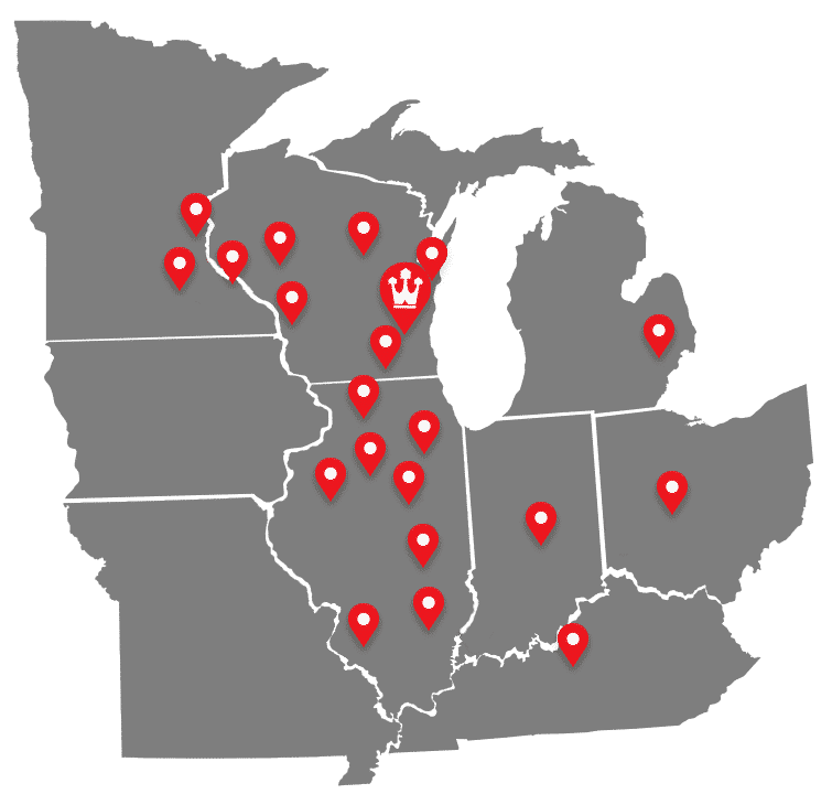 Walters Buildings Map August 2019