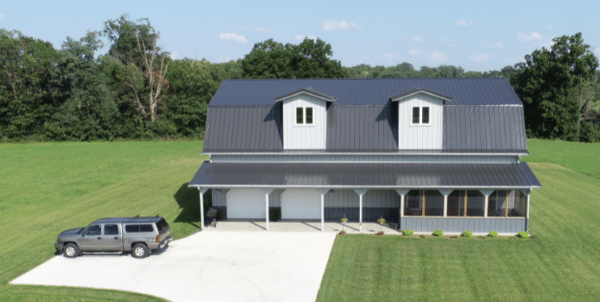Pros Cons Of A Post Frame Home, Pole Barn Home With Basement