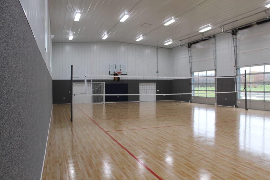 Indoor Basketball Court Walters Buildings
