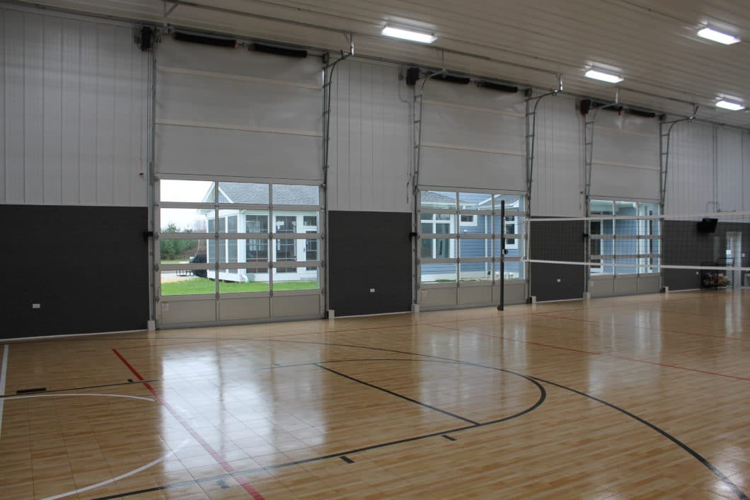 Indoor Basketball Court Walters Buildings