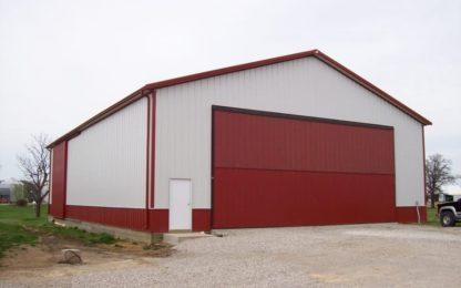 Steel Building Bi-Fold Door