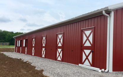 Metal Pole Barn Dutch Doors
