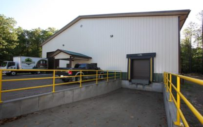 Metal Building Loading Dock
