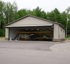 Metal Airplane Hangar