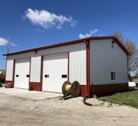 30x40 Steel Barn