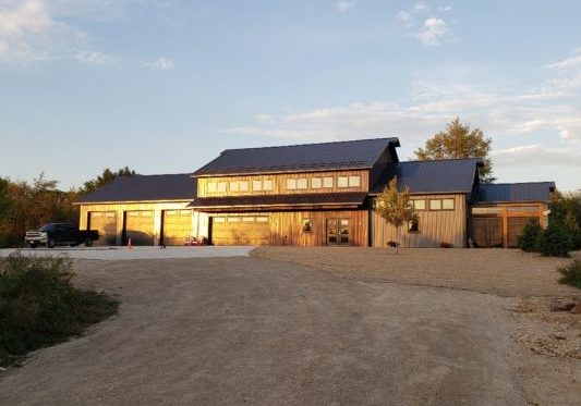 Contemporary Steel Home