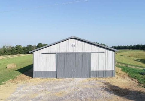 Simple Pole Shed