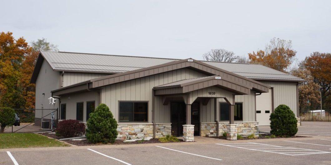 Post Frame Commercial Building