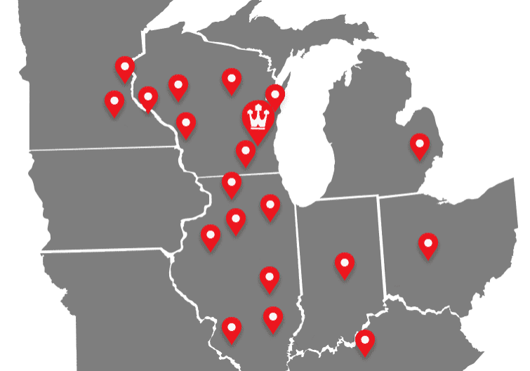 Walters Buildings Service Map 2020